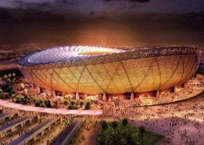 Lusail Qatar Stadium electroacoustic systems design coordination (PAVA)