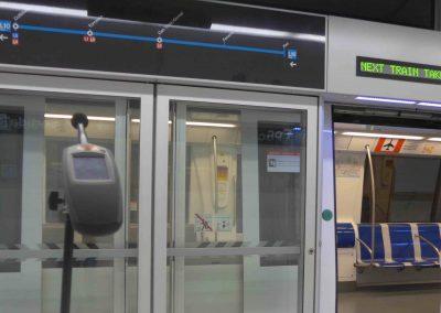 Controls de Qualitat Electroacústica de les línies de metro L9 i L10 de Barcelona